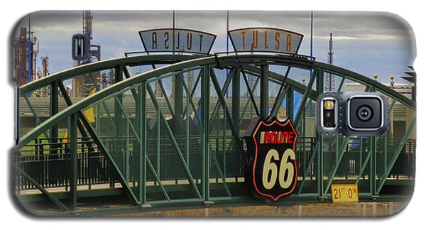 Route 66 Tulsa Sign - Hdr Galaxy S5 Case