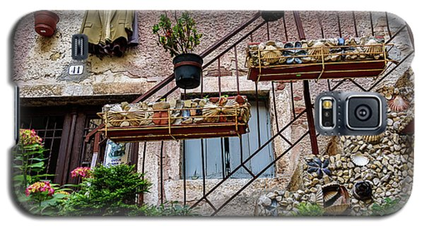 Rovinj Old Town Courtyard, Rovinj Croatia Galaxy S5 Case