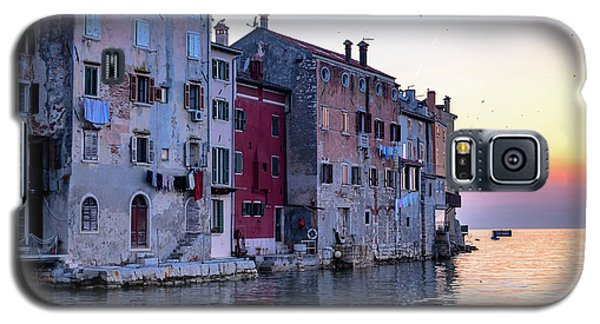 Rovinj Old Town On The Adriatic At Sunset Galaxy S5 Case