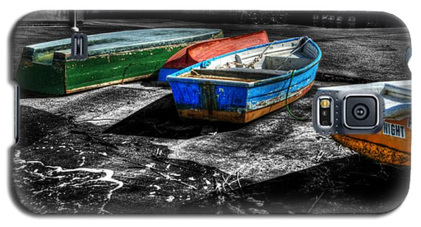 Row Boats At Mudeford Galaxy S5 Case