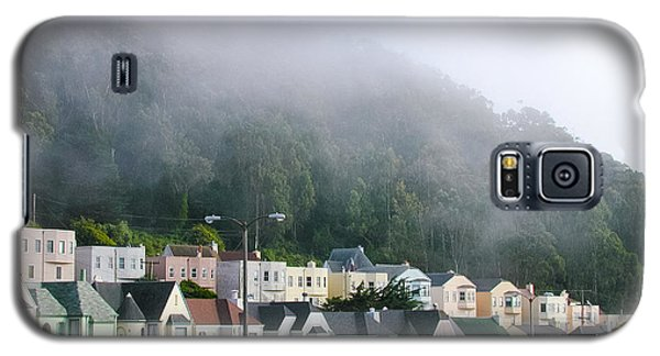 Row Houses In Fog Galaxy S5 Case