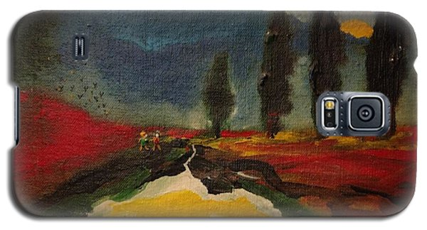 Row Of Cypress Galaxy S5 Case