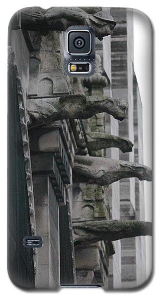 Row Of Gargoyles Galaxy S5 Case