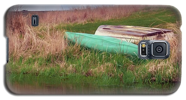 Galaxy S5 Case featuring the photograph Rowboat - Canoe by Nikolyn McDonald