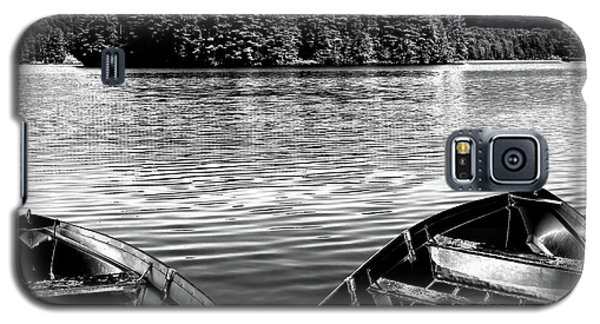 Galaxy S5 Case featuring the photograph Rowboats At The Dock 4 by David Patterson