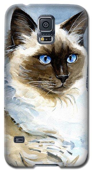 Roxy - Ragdoll Cat Portrait Galaxy S5 Case