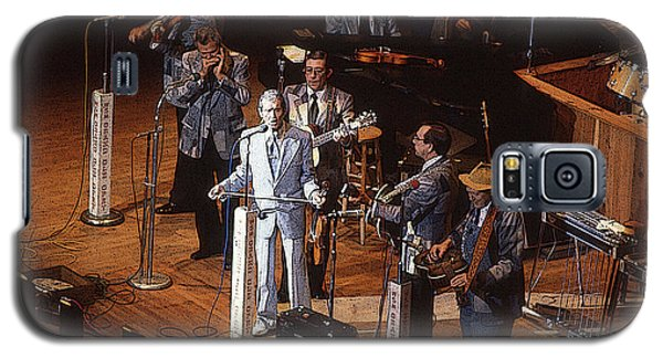 Galaxy S5 Case featuring the photograph Roy Acuff At The Grand Ole Opry by Jim Mathis