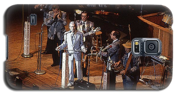 Roy Acuff At The Grand Ole Opry Galaxy S5 Case by Jim Mathis