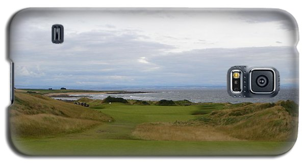 Royal Aberdeen Scotland Golf Galaxy S5 Case by Jan Daniels