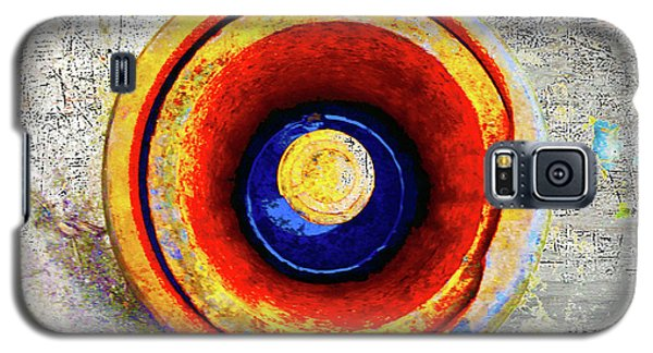 Galaxy S5 Case featuring the mixed media Royal Air Force by Tony Rubino
