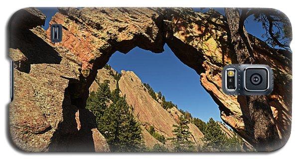 Royal Arch Trail Arch Boulder Colorado Galaxy S5 Case