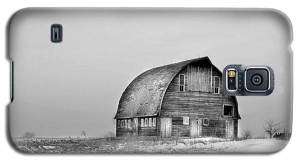 Royal Barn Bw Galaxy S5 Case by Bonfire Photography