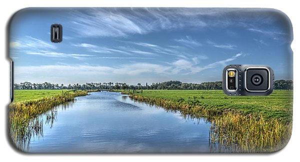 Royal Canal And Grasslands Galaxy S5 Case
