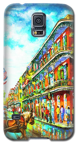 Royal Carriage - New Orleans French Quarter Galaxy S5 Case