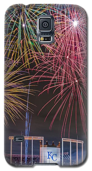 Royal Fireworks Galaxy S5 Case