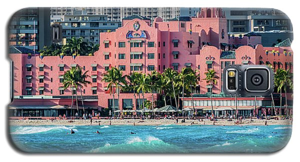 Royal Hawaiian Hotel Surfs Up Galaxy S5 Case