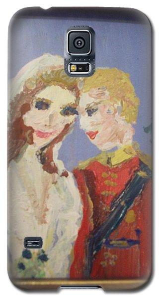 Royal Kiss Galaxy S5 Case by Judith Desrosiers