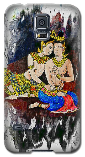 Royal Lovers Of Siam  Galaxy S5 Case by Ian Gledhill