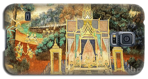 Royal Palace Ramayana 13 Galaxy S5 Case