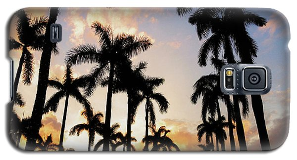 Royal Palm Way Galaxy S5 Case by Josy Cue