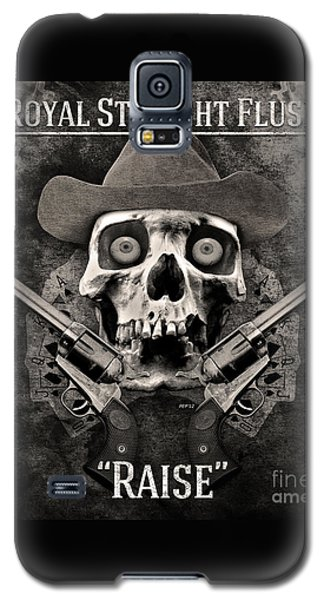 Galaxy S5 Case featuring the digital art Royal Straight Flush by Phil Perkins