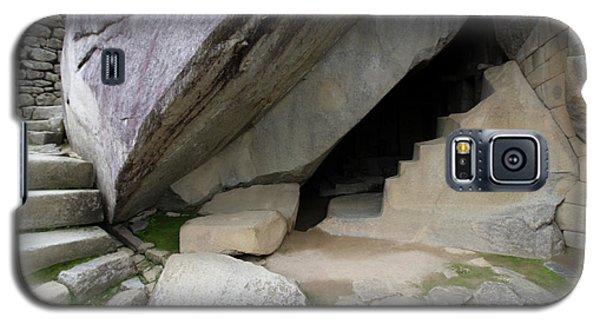 Galaxy S5 Case featuring the photograph Royal Tomb, Machu Picchu, Peru by Aidan Moran