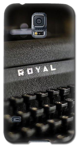 Royal Typewriter #19 Galaxy S5 Case