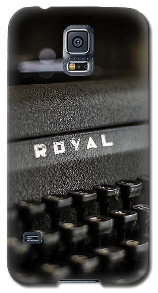 Royal Typewriter #19 Galaxy S5 Case