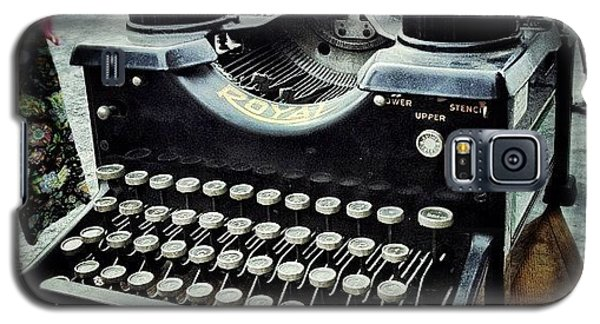 Instagramhub Galaxy S5 Case - Royal Typewriter by Natasha Marco