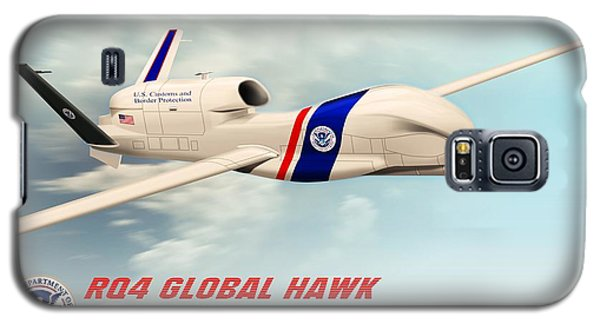 Rq4 Global Hawk Drone United States Galaxy S5 Case by John Wills