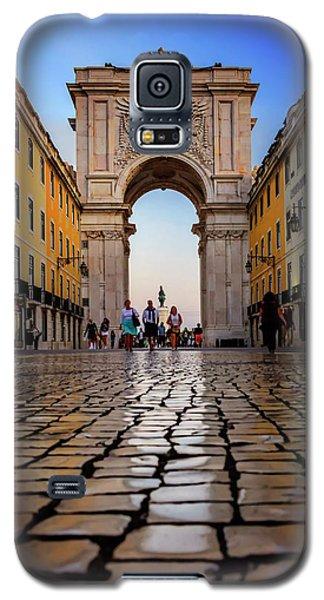 Rua Augusta Arch Lisbon Galaxy S5 Case