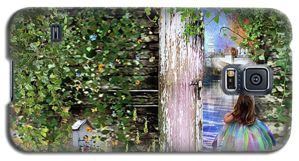 Galaxy S5 Case featuring the digital art  Ruach Ha-kodesh by Dolores Develde