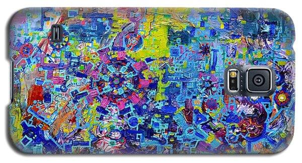 Rube Goldberg Abstract Galaxy S5 Case