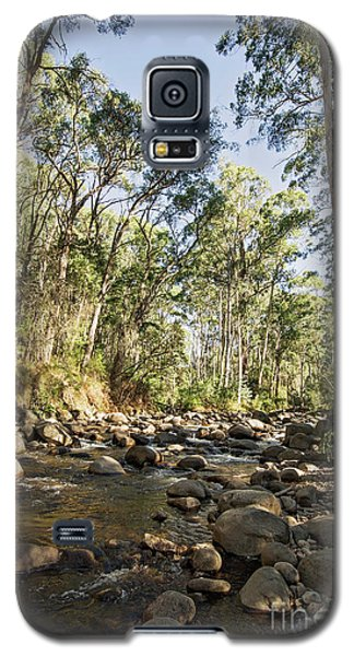 Galaxy S5 Case featuring the photograph Rubicon River by Linda Lees