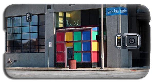 Rubik Shelter Galaxy S5 Case by Michiale Schneider