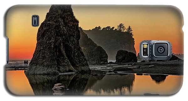 Ruby Beach At Sunset Galaxy S5 Case
