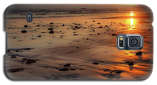 Galaxy S5 Case featuring the photograph Ruby Beach Sunset by David Chandler