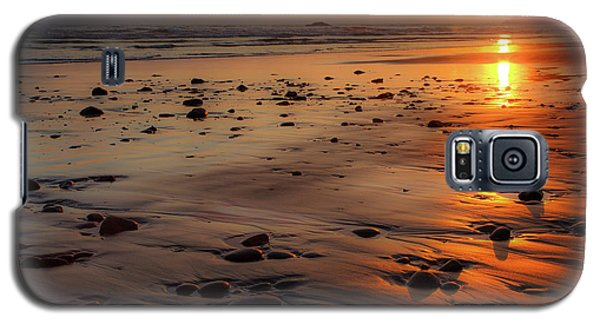 Ruby Beach Sunset Galaxy S5 Case