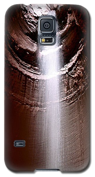 Galaxy S5 Case featuring the photograph Ruby Falls by Debra Forand