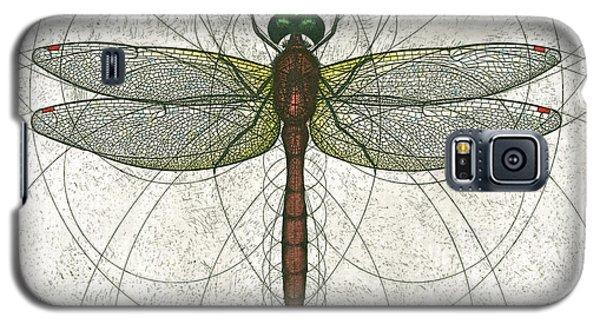 Ruby Meadowhawk Dragonfly Galaxy S5 Case