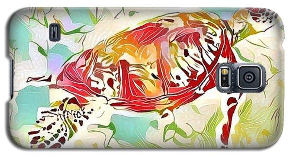 Ruby The Turtle Galaxy S5 Case by Erika Swartzkopf