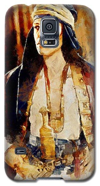 Rudolph Valentino As The Sheikh Galaxy S5 Case