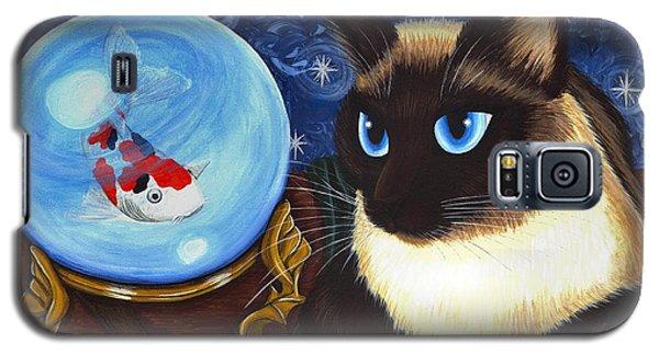 Rue Rue's Fortune - Siamese Cat Koi Galaxy S5 Case