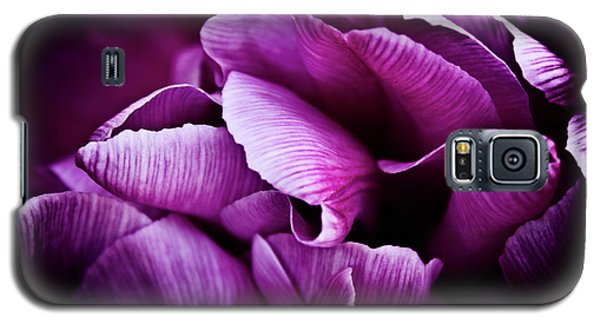 Galaxy S5 Case featuring the photograph Ruffled Edge Tulips by Joann Copeland-Paul