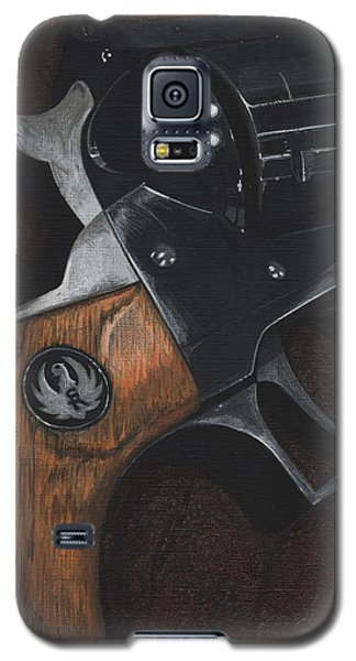 Ruger 44 Magnum Super Blackhawk Revolver Galaxy S5 Case