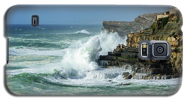 Galaxy S5 Case featuring the photograph Rugged Coastal Seascape by Marion McCristall