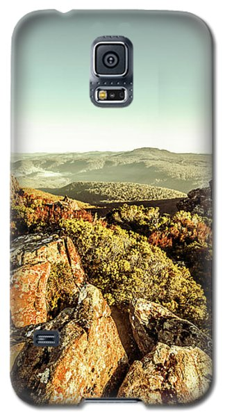 Rocky Galaxy S5 Case - Rugged Mountaintops To Regional Valleys by Jorgo Photography - Wall Art Gallery