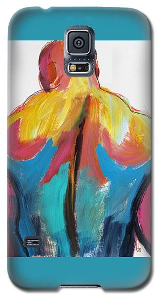 Rugger Man Broad Back Galaxy S5 Case by Shungaboy X