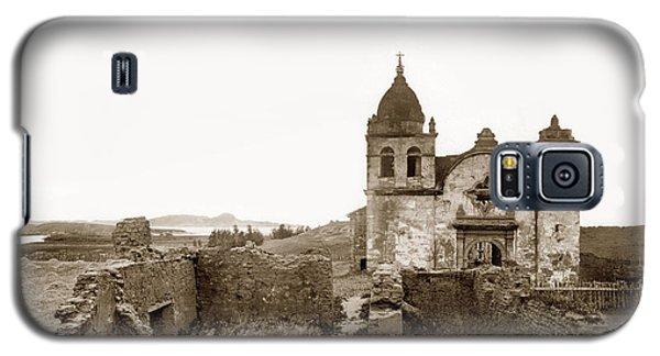 Ruins Of Carmel Mission, Monterey, Cal. Circa 1882 Galaxy S5 Case