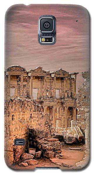 Ruins Of Ephesus Galaxy S5 Case by Tom Prendergast